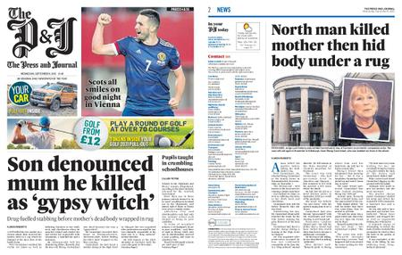 The Press and Journal Moray – September 08, 2021