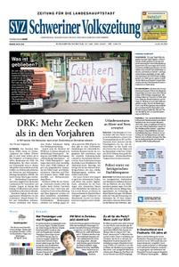 Schweriner Volkszeitung Zeitung für die Landeshauptstadt - 27. Juni 2020