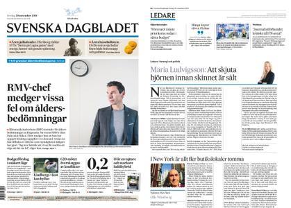 Svenska Dagbladet – 30 november 2018