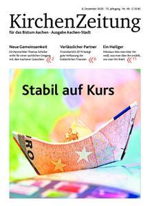KirchenZeitung für das Bistum Aachen – 06. Dezember 2020