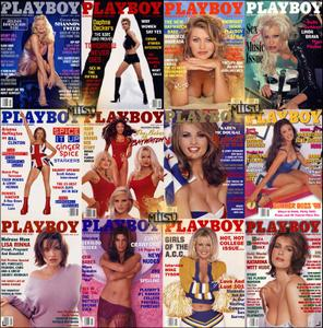 Playboy USA - Full Year 1998 Issues Collection
