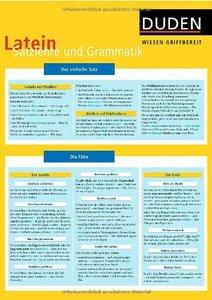 Duden Wissen griffbereit, Latein Grammatik (repost)