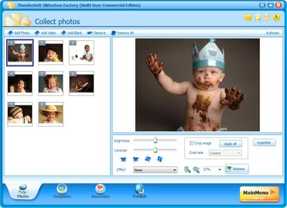 ThunderSoft Slideshow Factory 4.7.0