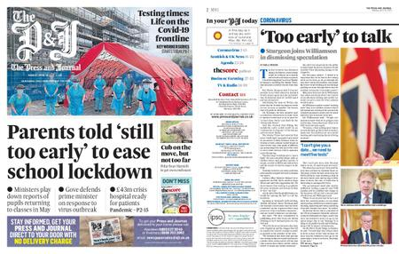 The Press and Journal Moray – April 20, 2020