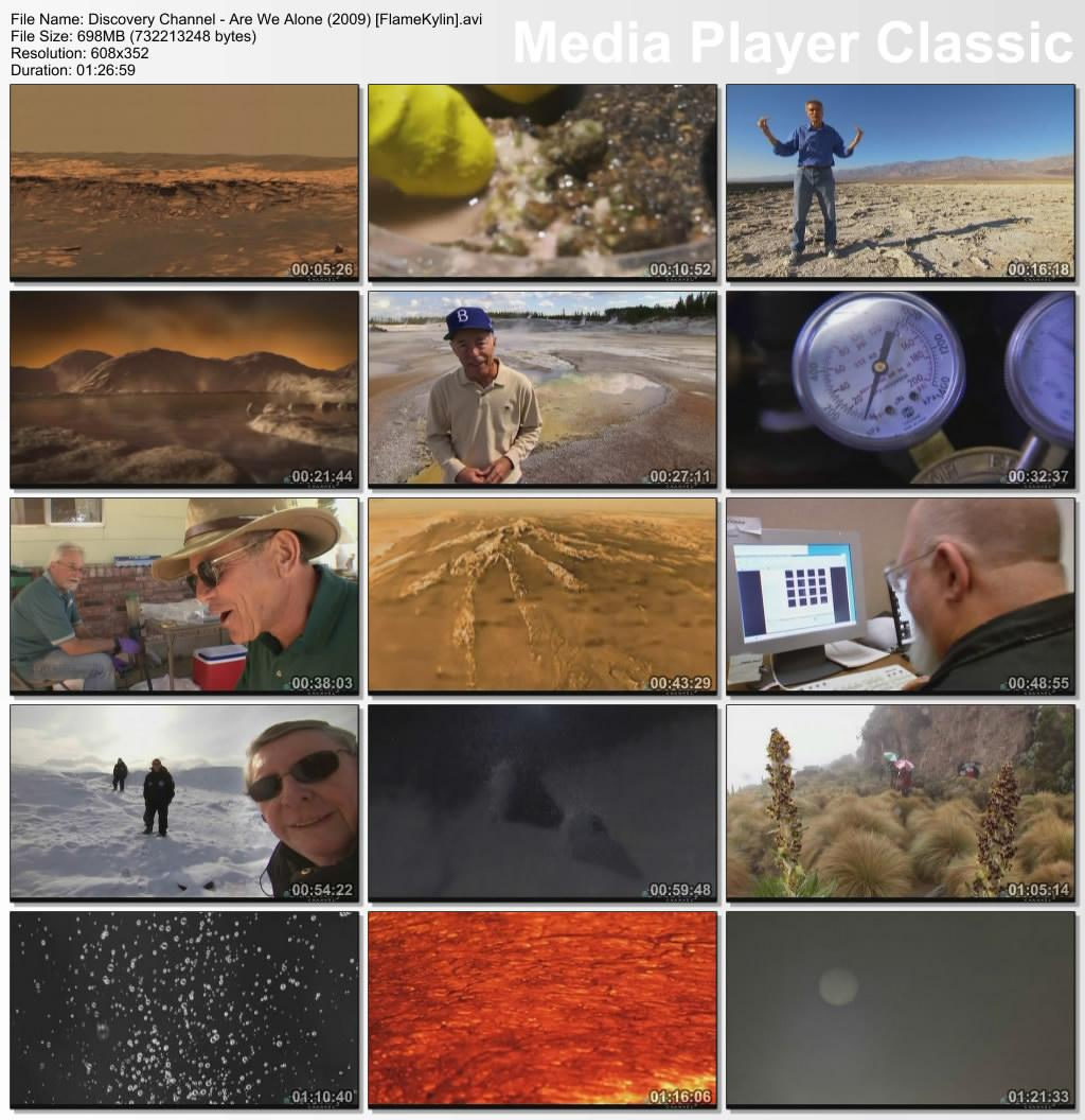 Discovery Channel: Are We Alone (2009)