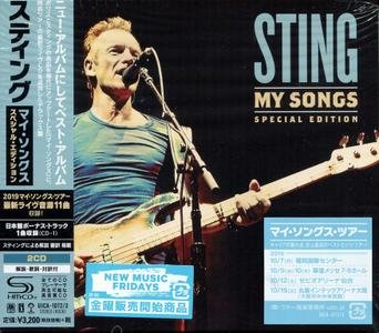 Sting - My Songs (2019) {Special Edition, Japan}