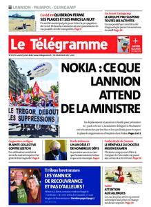 Le Télégramme Guingamp – 27 juillet 2020