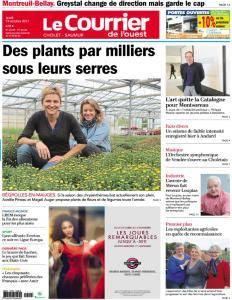 Le Courrier de l'Ouest Cholet - 19 Octobre 2017