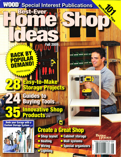 WOOD - Best-Ever Home Shop Ideas (Fall 2009)