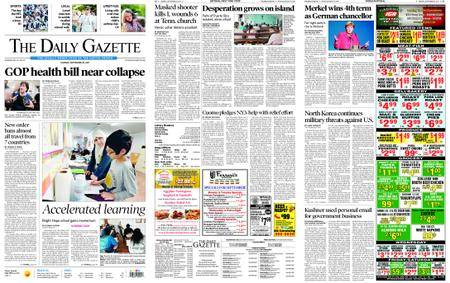 The Daily Gazette – September 25, 2017