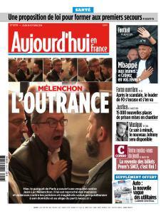 Aujourd'hui en France du Jeudi 18 Octobre 2018