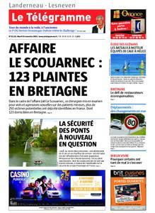 Le Télégramme Landerneau - Lesneven – 19 novembre 2019