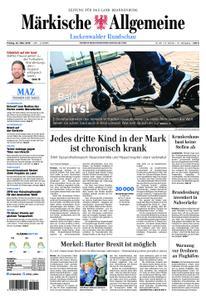 Märkische Allgemeine Luckenwalder Rundschau - 22. März 2019