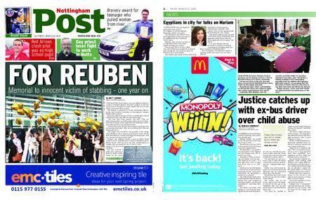 Nottingham Post – March 23, 2018