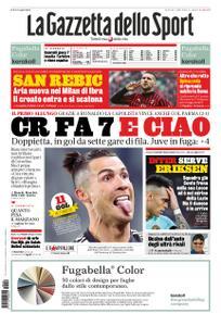 La Gazzetta dello Sport Roma – 20 gennaio 2020