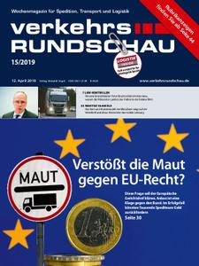 VerkehrsRundschau - 09. April 2019