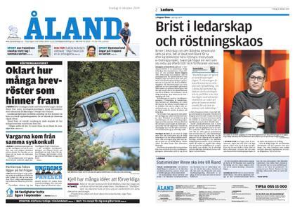 Ålandstidningen – 11 oktober 2019