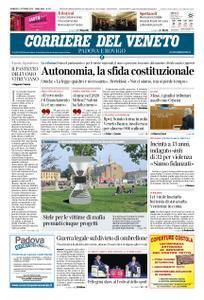 Corriere del Veneto Padova e Rovigo – 11 ottobre 2019