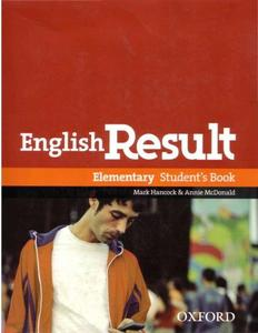 English Result Elementary Students Book