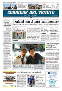 Corriere del Veneto Padova e Rovigo – 11 agosto 2019