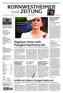 Kornwestheimer Zeitung - 13. Juli 2018