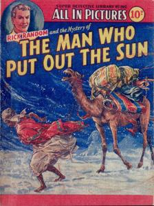 Super-Detective Library 105-Rick Random and the Mystery of the Man Who Put Out the Sun Bogof39