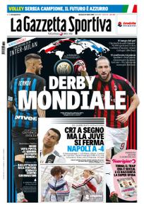 La Gazzetta dello Sport Roma – 21 ottobre 2018