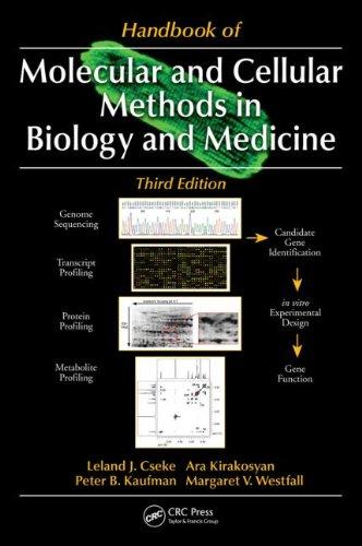 Handbook of Molecular and Cellular Methods in Biology and Medicine, Third Edition