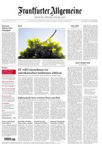 Frankfurter Allgemeine Zeitung F.A.Z. - 07. August 2018