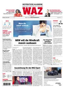WAZ Westdeutsche Allgemeine Zeitung Oberhausen-Sterkrade - 26. März 2019