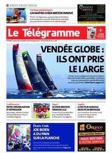 Le Télégramme Brest Abers Iroise – 09 novembre 2020