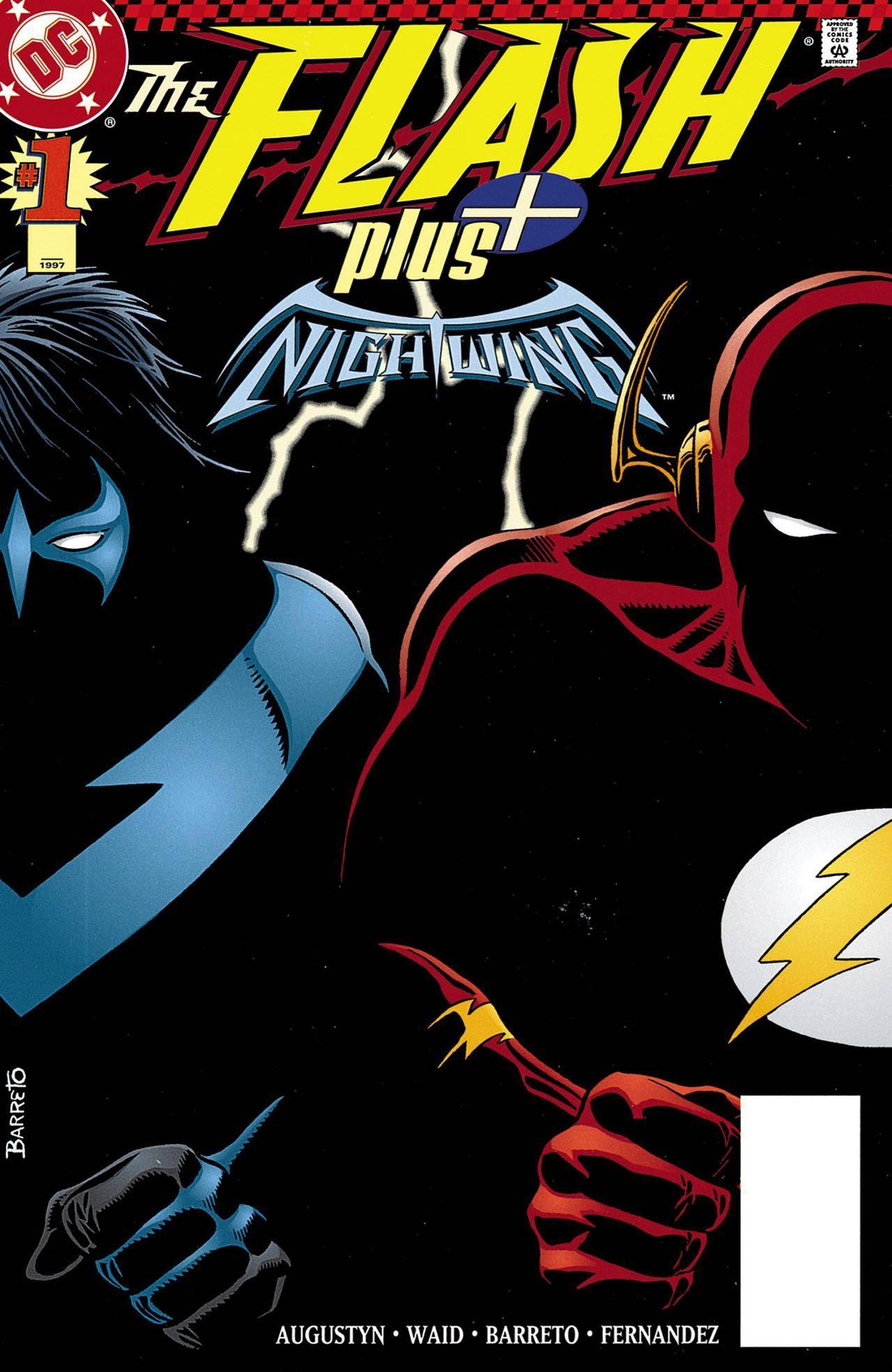 Flash 1997-09 Flash Plus Nightwing 001 digital with LP