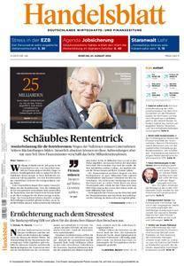 Handelsblatt - 01. August 2016