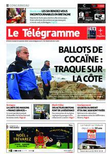 Le Télégramme Concarneau – 23 novembre 2019