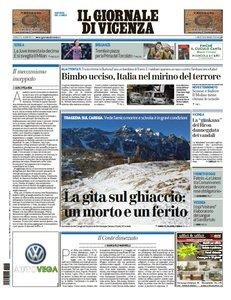 Il Giornale Di Vicenza - 18 Gennaio 2016