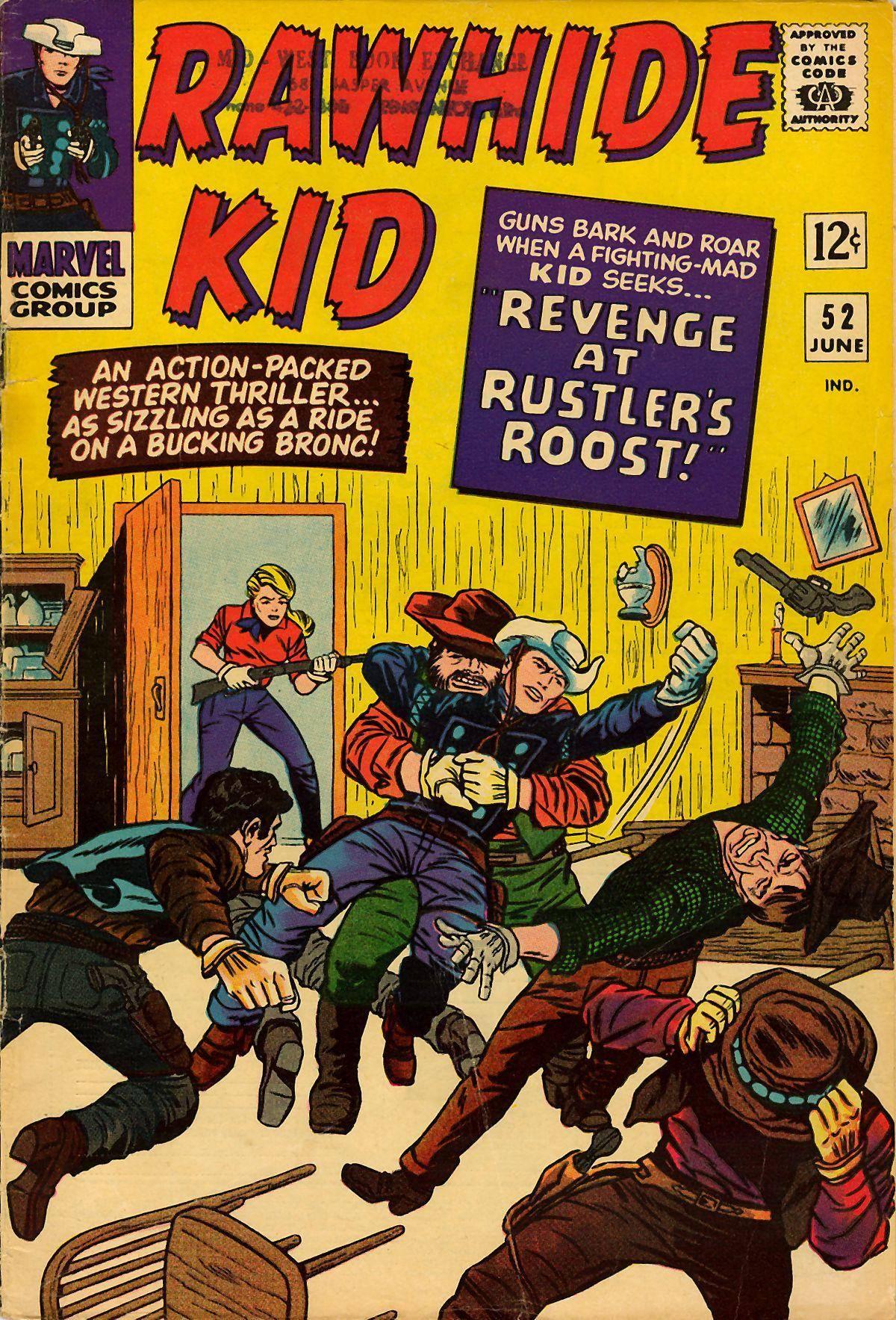 Rawhide Kid v1 052 1966