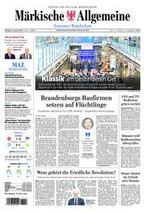 Märkische Allgemeine Zossener Rundschau - 21. Januar 2019