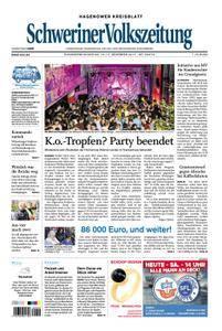 Schweriner Volkszeitung Hagenower Kreisblatt - 16. Dezember 2017
