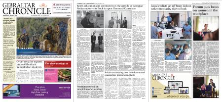 Gibraltar Chronicle – 08 October 2020