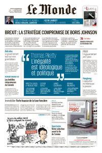 Le Monde du Vendredi 6 Septembre 2019