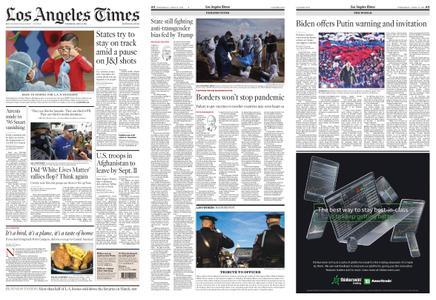 Los Angeles Times – April 14, 2021