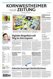 Kornwestheimer Zeitung - 07. September 2017