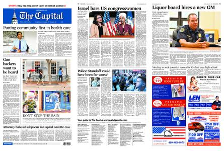 The Capital – August 16, 2019