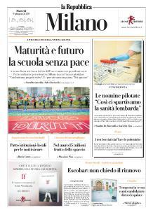 la Repubblica Milano - 9 Giugno 2020