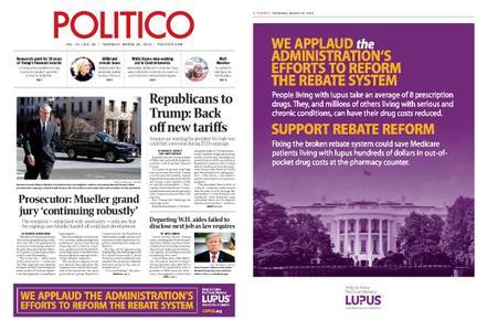 Politico – March 28, 2019