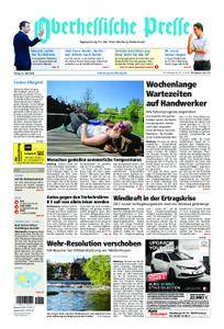 Oberhessische Presse Marburg/Ostkreis - 20. April 2018