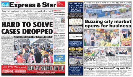 Express and Star City Edition – July 18, 2018