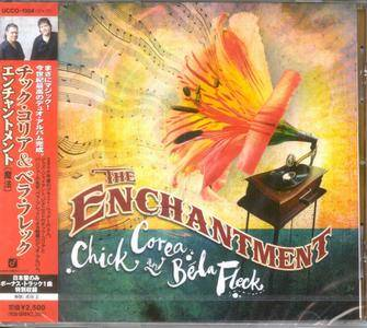 Chick Corea And Béla Fleck - The Enchantment (2007) {Japanese Edition}