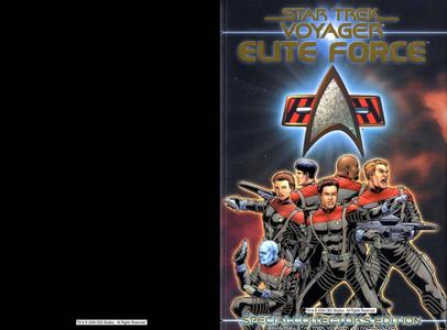Star Trek Voyager Wildstorm 4-Elite Force Special Collectors Edition Nov 2000