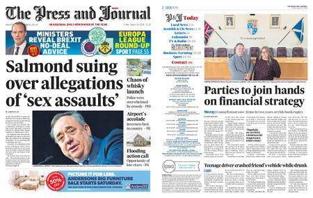The Press and Journal Moray – August 24, 2018